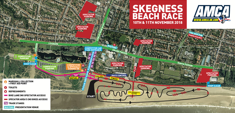 skegness 2018 map