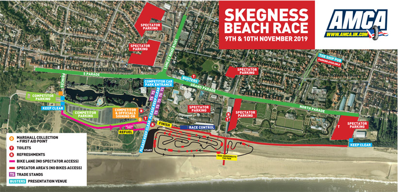 skegness 2019 map